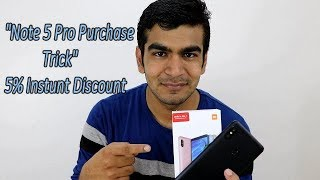 Trick How to Purchase Redmi Note 5 Pro, Disscount On Xiaomi Product !! HINDI