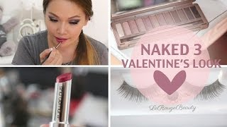 Urban Decay Naked 3 Valentine's Day Look ♥ Thumbnail