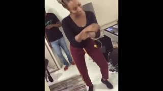 Dj Cuppy doing the Shaku Shaku dance | Small Doctor Penalty Dance Video