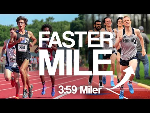 How to Run a FASTER MILE!! Ft. Spencer Brown (The Athlete Special)