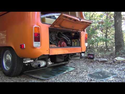 Engine starting and running: 1973 VW Campmobile Ford Cologne 2.8L V6 conversion