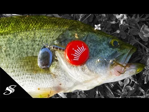 Can YOU Catch Fish On A Bottle Cap Lure?
