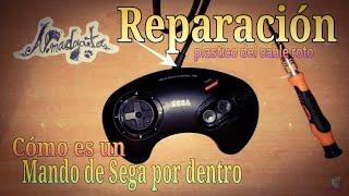 Reparar, cable de Mando Sega - almadgata