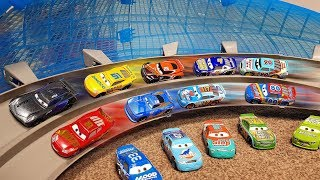 Gambar cover Disney Cars 3 Toys World Biggest cars playset Ultimate Florida Speedway with Lightning Mcqueen
