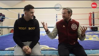 Andy Lee: Niall Kennedy on fighting in the ring, with his son fighting for his life