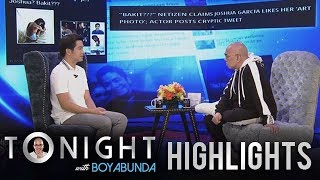 TWBA: Joshua Garcia breaks his silence on his alleged private conversation