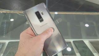 Samsung Galaxy S9 PLUS review! TİTANİUM GRAY