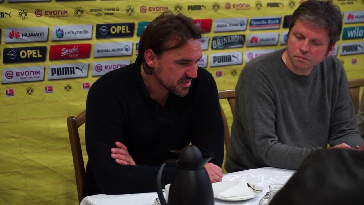 Pressekonferenz mit Daniel Farke  BVBII - Alemannia Aachen 0-0 Stadion Rote Erde 07.05.2017