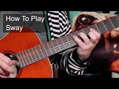 'Sway' Dean Martin Guitar Lesson