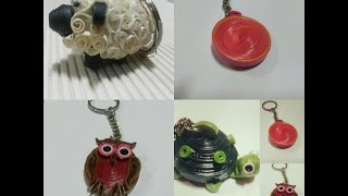 Quilling animal Keychains!!!