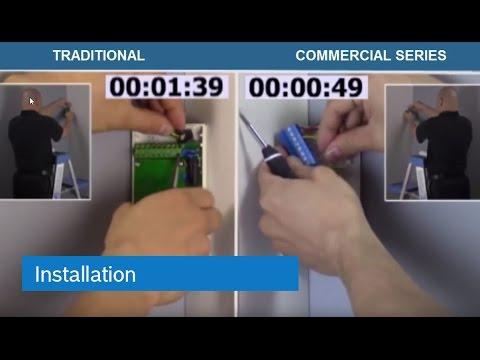 Commercial Series Detectors: Installation