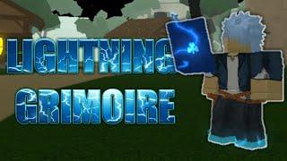 ROBLOX Lightning Grimoire! l Clover en ligne
