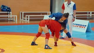 Всероссийский турнир по самбо среди девушек приуроченный Дню России