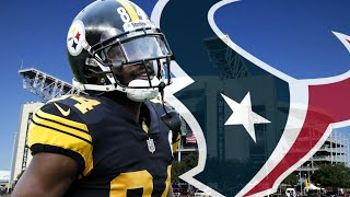 TEXANS ARE INTERESTED IN ANTONIO BROWN!?