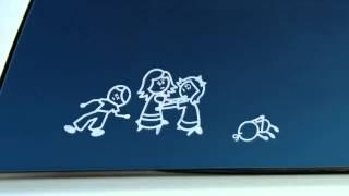 Безопасность семьи в автомобиле - социальная реклама.