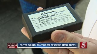 Coffee Co. Considers adding GPS Tracking Devices To Ambulances