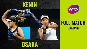 Sofia Kenin vs. Naomi Osaka | Full Match | 2020 Brisbane Round of 16