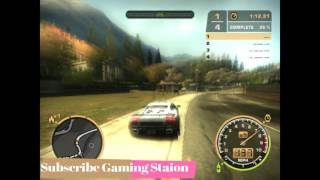 Need For Speed Most Wanted Race with my favourite car