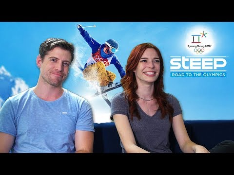 THAT LOOKS SO PAINFUL  Wipe Out Contest with Chloe Dykstra! Steep: Road To The Olympics