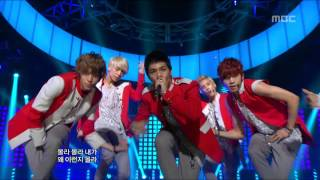 TEEN TOP - Be ma girl, 틴탑 - 나랑 사귈래, Music Core 20120825