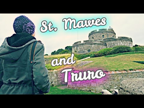 ST MAWES CASTLE AND TRURO CATHEDRAL // Americans In Cornwall, England