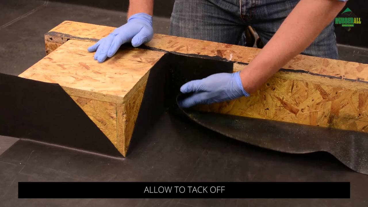 How To Install A Rubber Flat Roof Part 5 Internal And