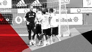 Beşiktaş & Çaykur Rizespor Maç Hazırlıkları: Çift Kale Maç - Beşiktaş JK