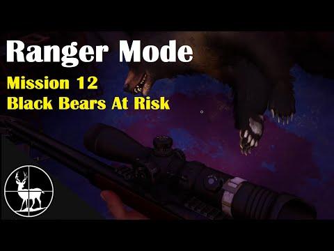Mission 12: Black Bears At Risk | A Ranger's Life | Hunting Simulator 2 |