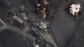 COMBAT CAM: First video of Russian airstrikes on ISIS in Syria
