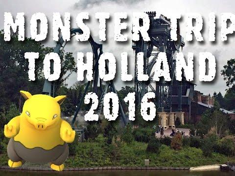 Trip to the Netherlands 2016 - Pokémon GO, Rotterdam, Amsterdam, Efteling, Walibi