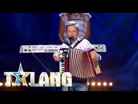 Albinz sjunger Jag trodde änglarna fanns i Talang 2018  - Talang (TV4)