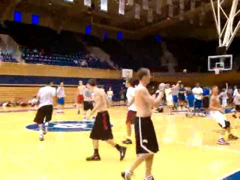 Duke Coach vs. Players - YouTube