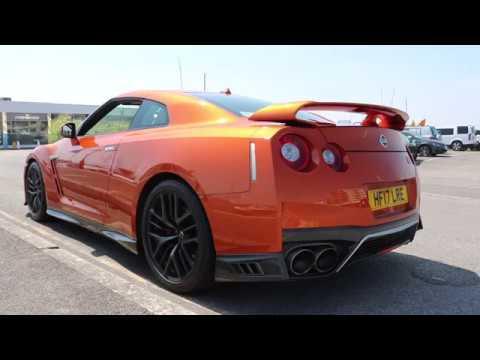 2017 Nissan GT-R Katsura Orange - HF17 LRE - YouTube