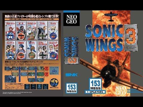 NEO·GEO - AERO FIGHTERS 3 / SONIC WINGS 3 Walkthrough