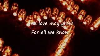 FOR ALL WE KNOW Original Master Karaoke (Lyrics)