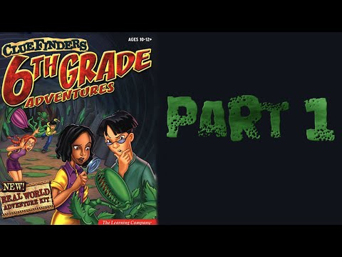 Whoa I Remember: The ClueFinders 6th Grade Adventures: Part 1