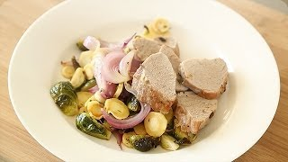 Pork Tenderloin With Roasted Fall Vegetables - Everyday Food With Sarah Carey