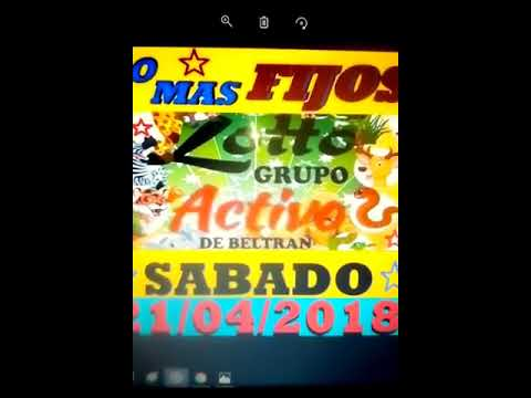 LOTTO ACTIVO Y LA GRANJITA DATOS FIJOS 21/4/2018