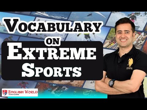 Vocabulary on EXTREME SPORTS  | Skydiving Without Parachute | most dangerous sports | Vikram Khanna