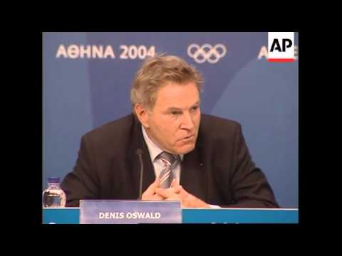 IOC visiting committee says Athens on track for Games