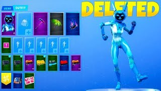 Fortnite Officially DELETED The Gemini Skin..!