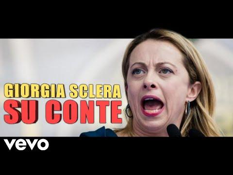 Giorgia Meloni SCLERA su CONTE - REMIX