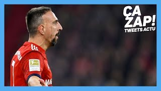 Bayern Munich. Franck Ribéry a giflé un consultant TV français selon Bild
