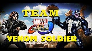 MVCI: We Are Venom Soldier! | Venom & Winter Soldier Online Matches
