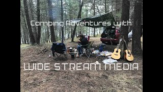 Camping Adventure with Wide Stream Media