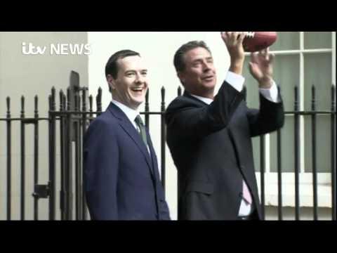 Can George Osborne throw an NFL ball?