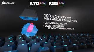 introducing the corsair k70 rgb and k95 rgb