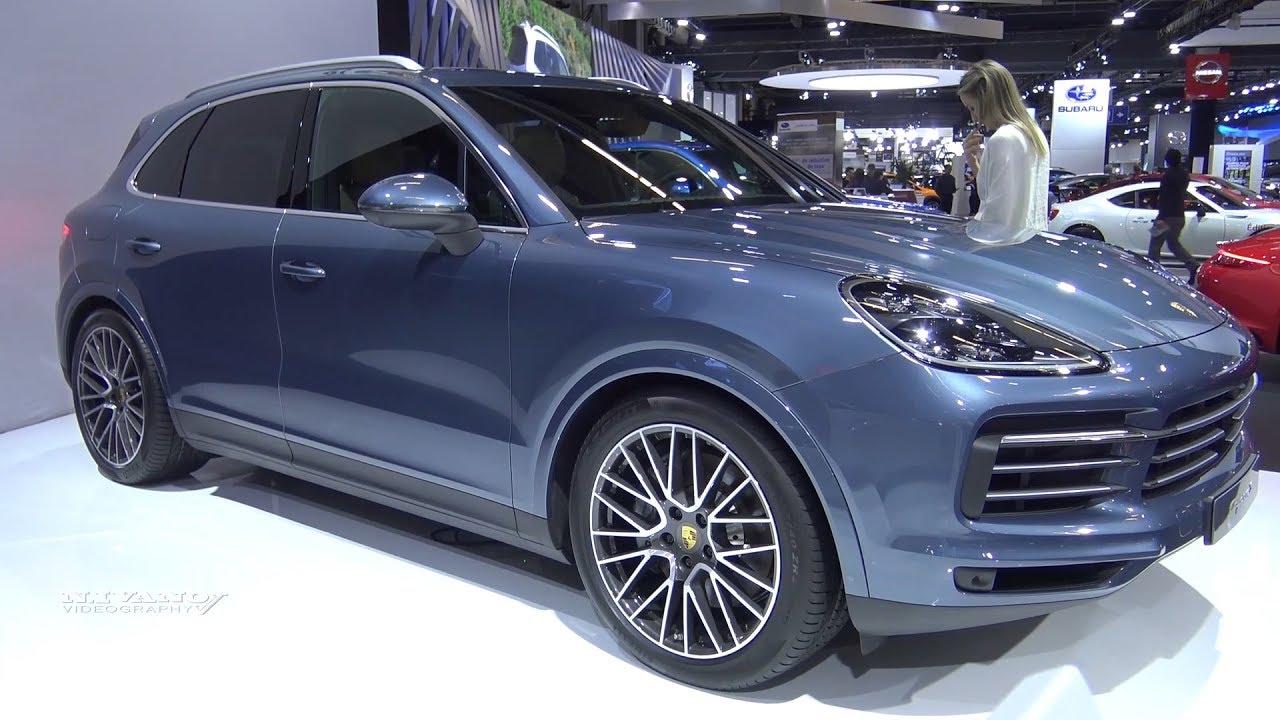 2019 Porsche Cayenne S Exterior And Interior Walkaround Youtube