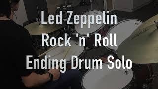 レッドツェッペリンの有名な Rock And Roll の有名なエンディンドラムソロ の再現と、譜面付きでゆっくりと演奏したバージョンの動画です。 ...