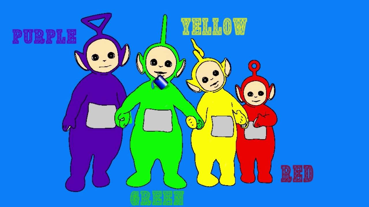 Teletubbies Coloring Pages For Learning Colors all Teletubbies